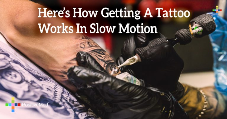 Here's How Getting A Tattoo Works In Slow Motion