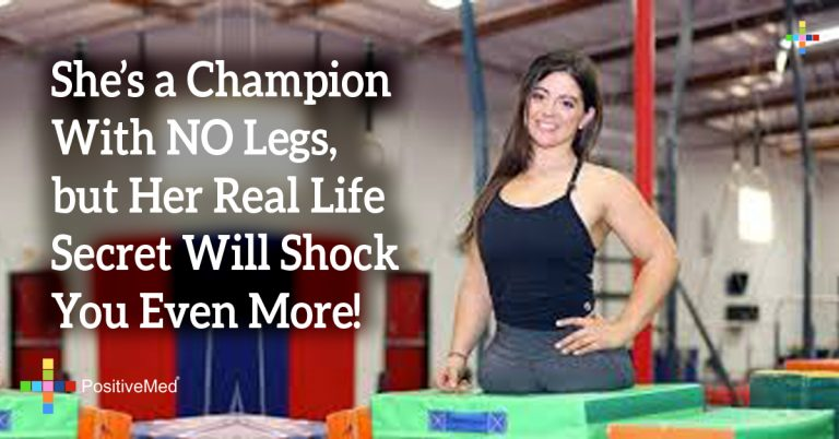 She's a Champion With NO Legs, but Her Real Life Secret Will Shock You Even More!