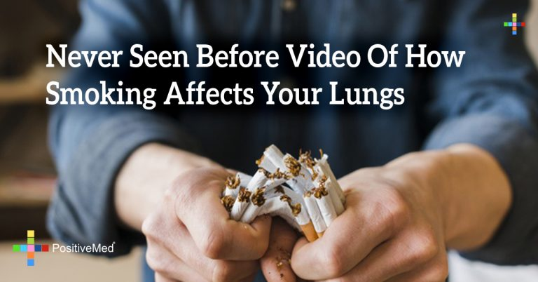 Never Seen Before Video Of How Smoking Affects Your Lungs