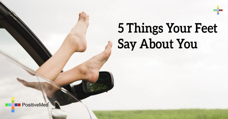 5 Things Your Feet Say About You