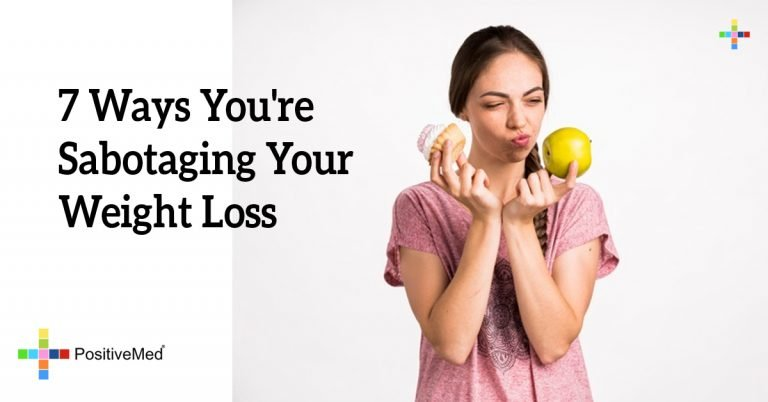 7 Ways You're Sabotaging Your Weight Loss