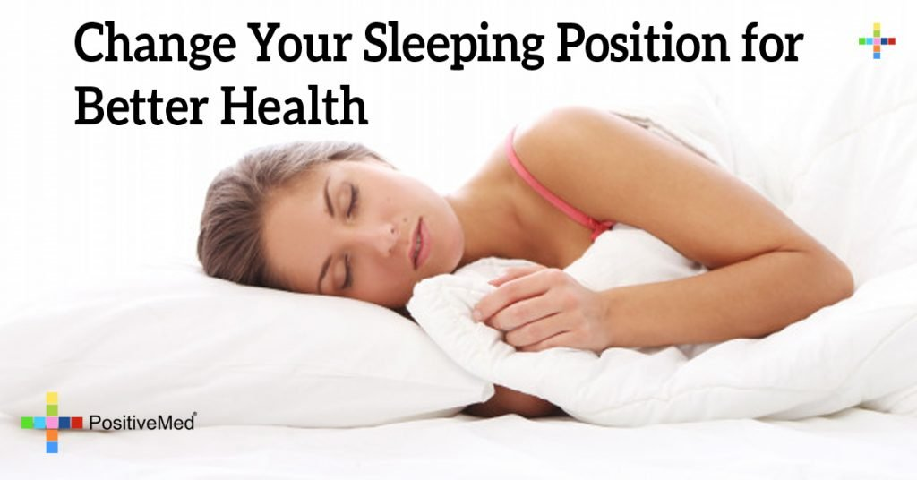Change Your Sleeping Position for Better Health