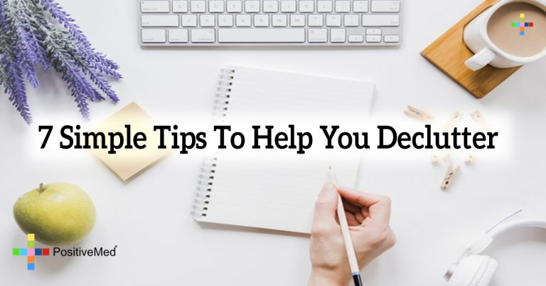 7 Simple Tips To Help You Declutter
