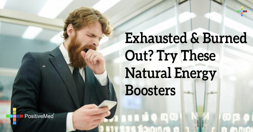 Exhausted & Burned Out? Try These Natural Energy Boosters
