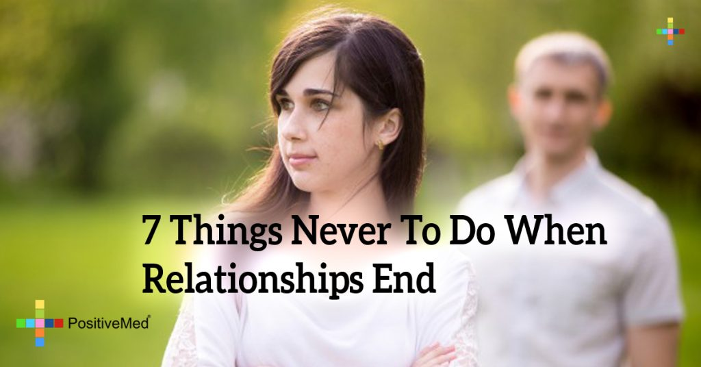 7 Things Never To Do When Relationships End