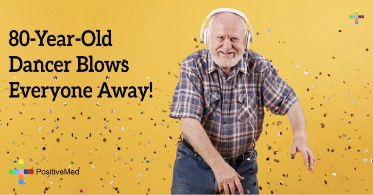 80-Year-Old Dancer Blows Everyone Away!