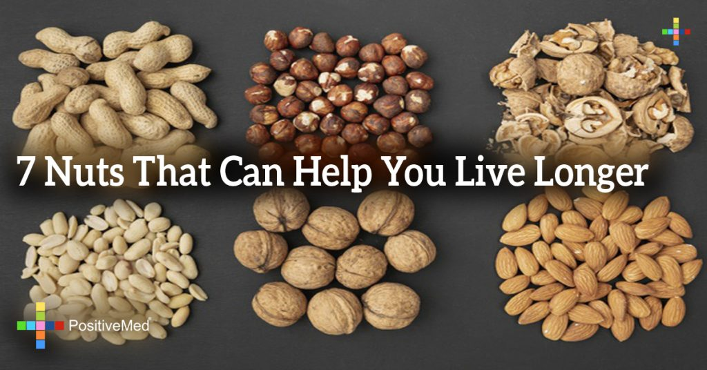 7 Nuts That Can Help You Live Longer