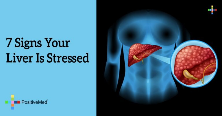 7 Signs Your Liver Is Stressed