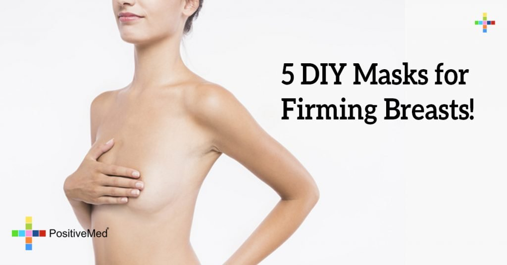 5 DIY Masks for Firming Breasts!
