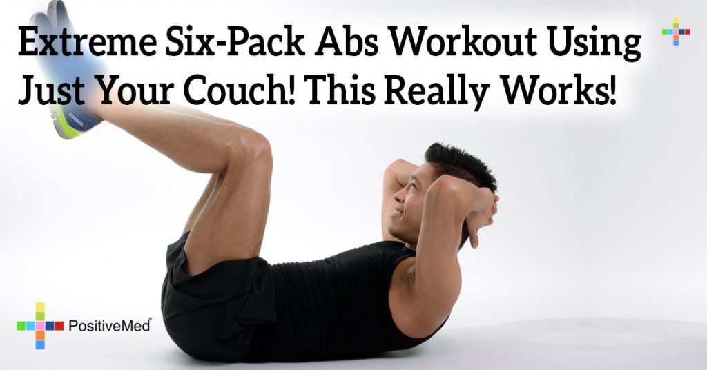 Extreme Six-Pack Abs Workout Using Just Your Couch! This Really Works!
