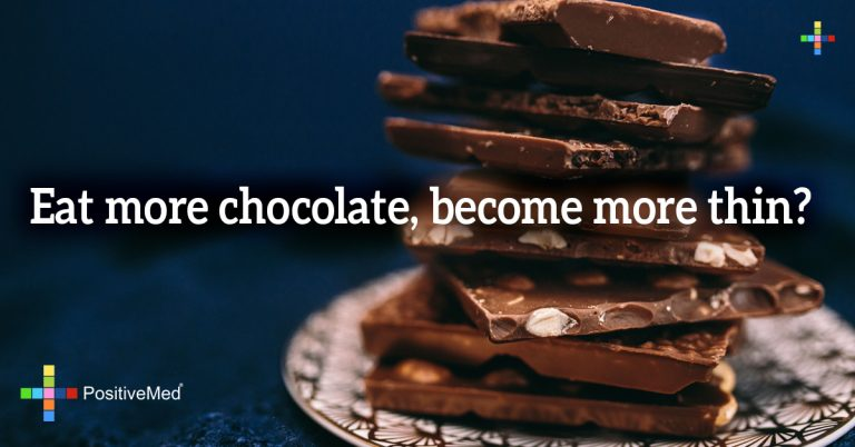 Eat more chocolate, become more thin?