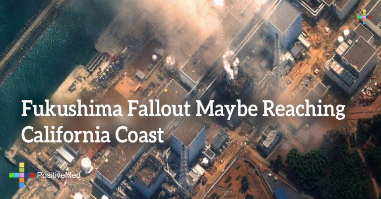 Fukushima Fallout Maybe Reaching California Coast