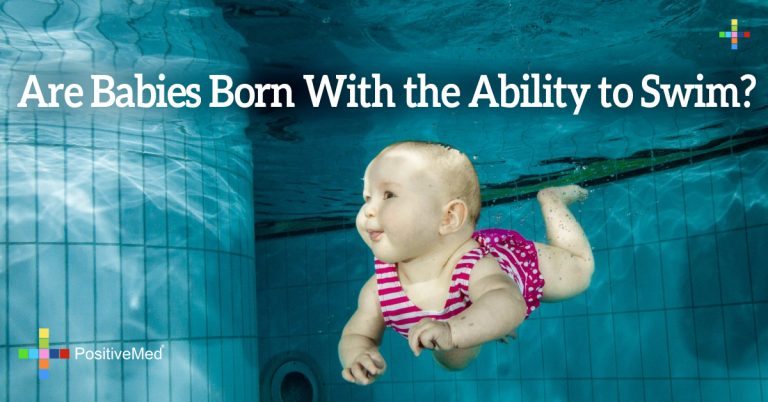 Are Babies Born With the Ability to Swim?