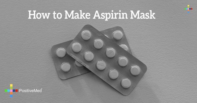 How to Make Aspirin Mask