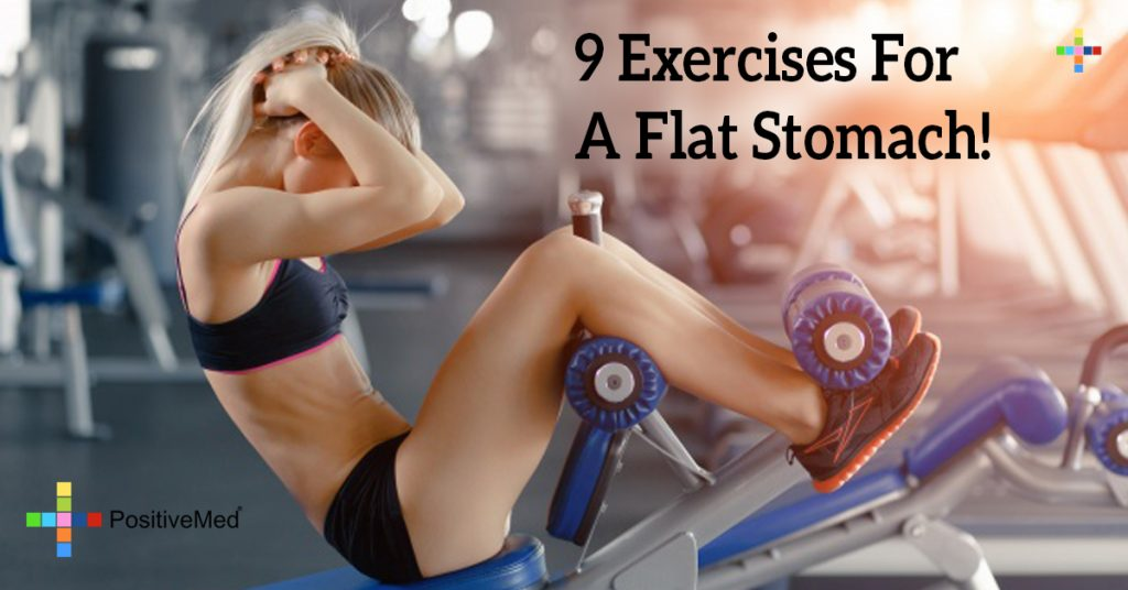 9 Exercises For A Flat Stomach!