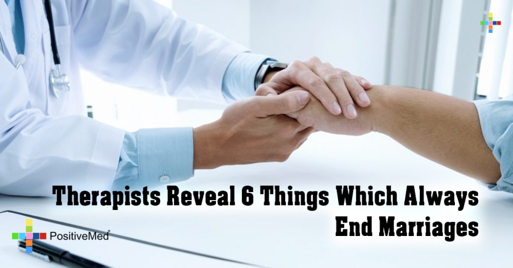Therapists Reveal 6 Things Which Always End Marriages