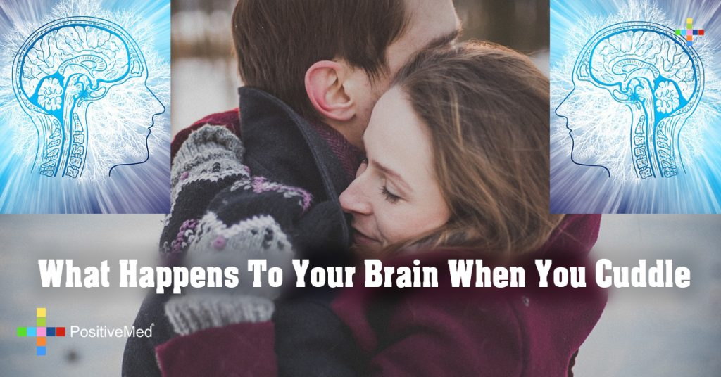What Happens To Your Brain When You Cuddle