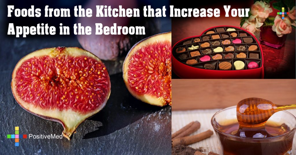 Foods from the Kitchen that Increase Your Appetite in the Bedroom