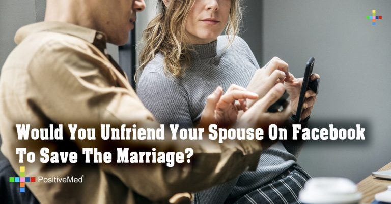 Would You Unfriend Your Spouse On Facebook To Save The Marriage ?