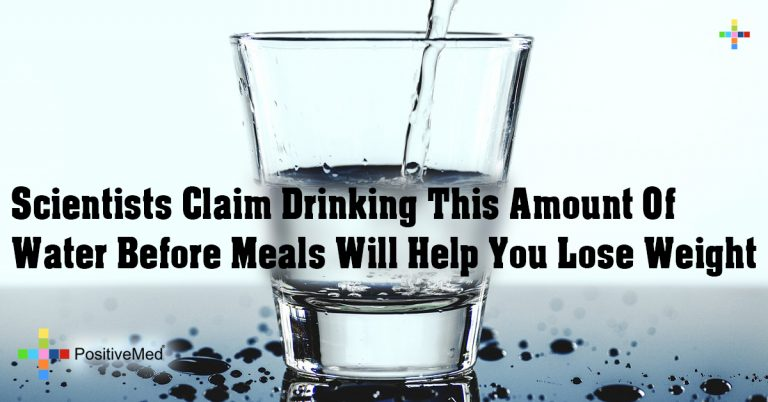 Scientists Claim Drinking This Amount Of Water Before Meals Will Help You Lose Weight