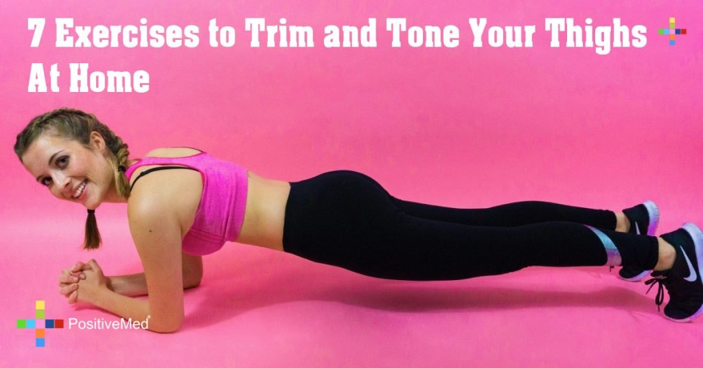 7 Exercises to Trim and Tone Your Thighs At Home