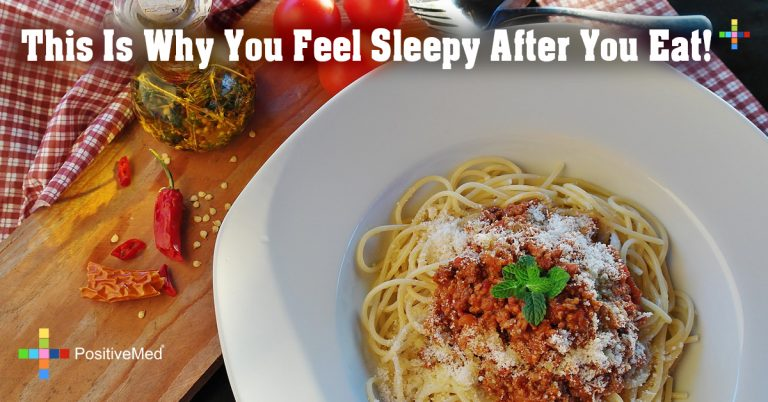 This Is Why You Feel Sleepy After You Eat!