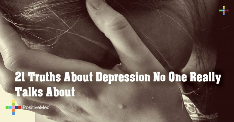 21 Truths About Depression No One Really Talks About