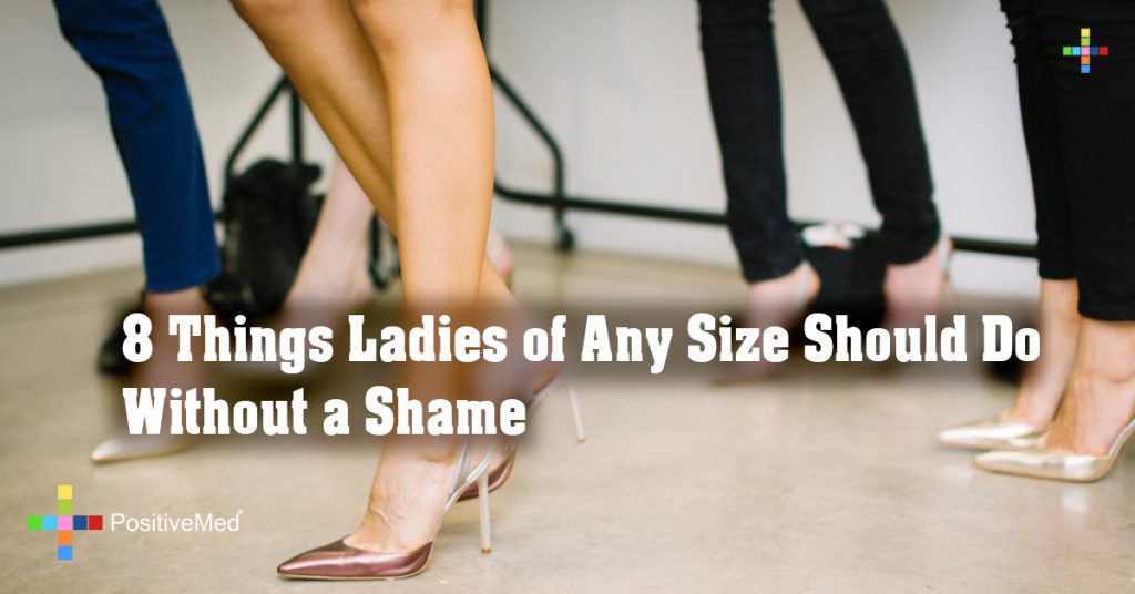 8 Things Ladies of Any Size Should Do Without a Shame