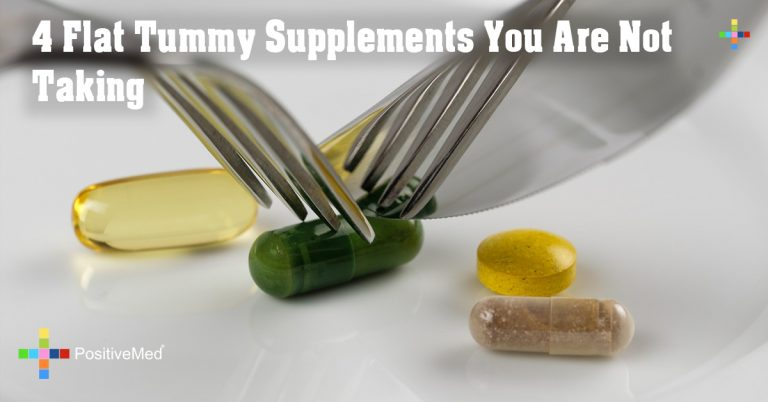 4 Flat Tummy Supplements You Are Not Taking