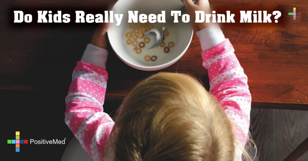 Do Kids Really Need To Drink Milk?
