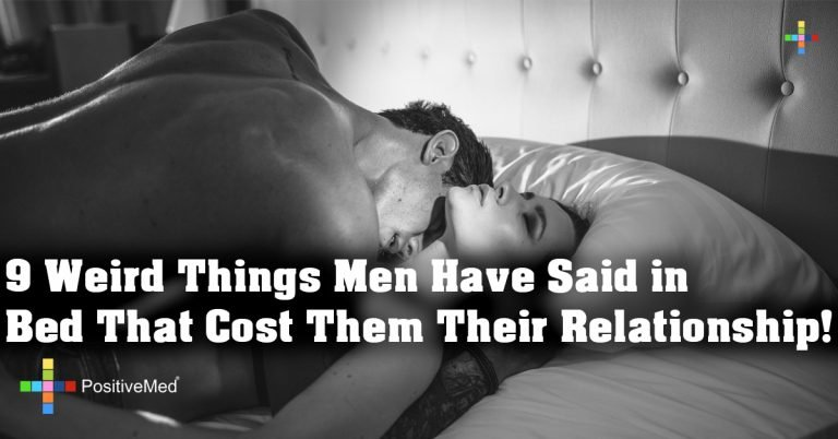 9 Weird Things Men Have Said in Bed That Cost Them Their Relationship!