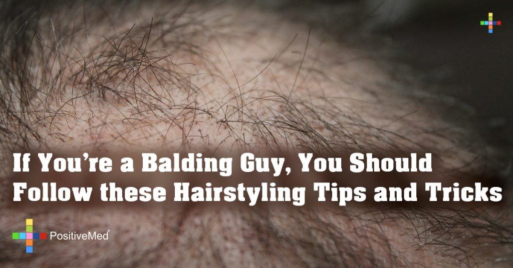 If You're a Balding Guy, You Should Follow these Hairstyling Tips and Tricks