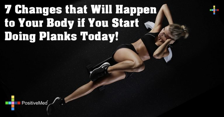 7 Changes that Will Happen to Your Body if You Start Doing Planks Today!
