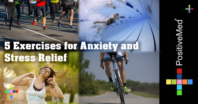 5 Exercises for Anxiety and Stress Relief
