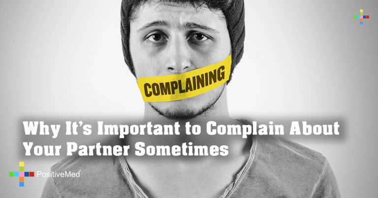 Why It's Important to Complain About Your Partner Sometimes