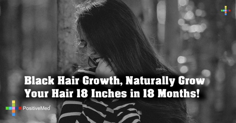Black Hair Growth, Naturally Grow Your Hair 18 Inches in 18 Months!