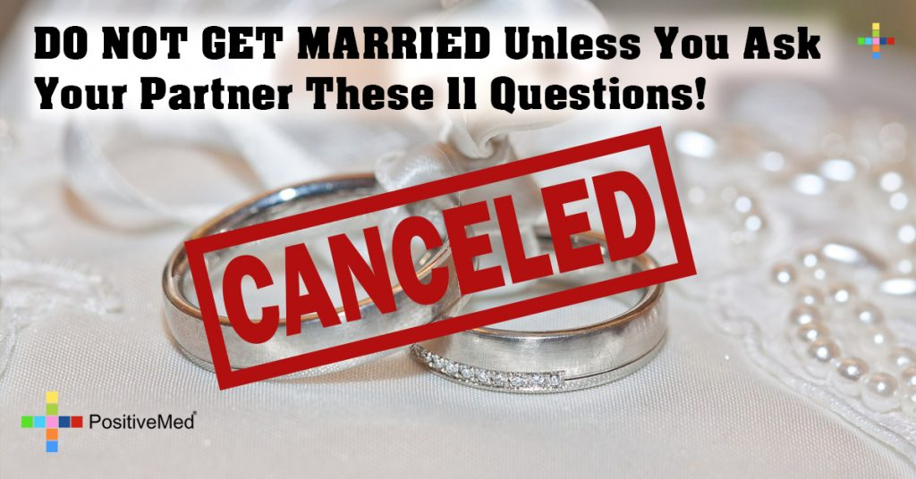 DO NOT GET MARRIED Unless You Ask Your Partner These 11 Questions!