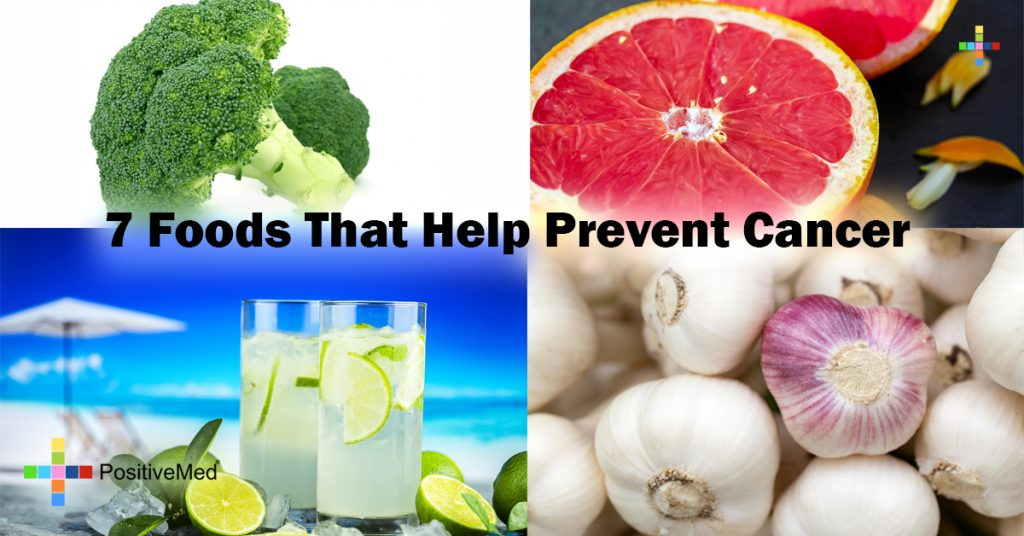 7 Foods That Help Prevent Cancer