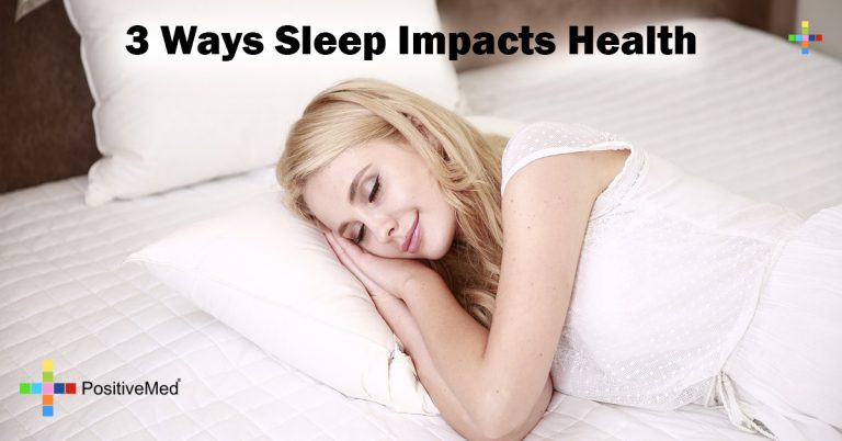3 Ways Sleep Impacts Health