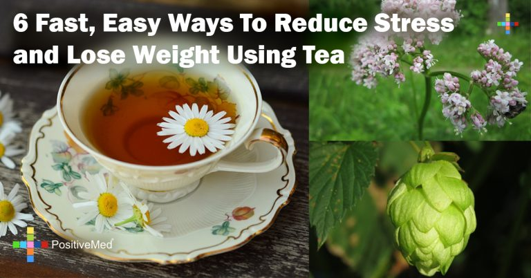 6 Fast, Easy Ways To Reduce Stress and Lose Weight Using Tea