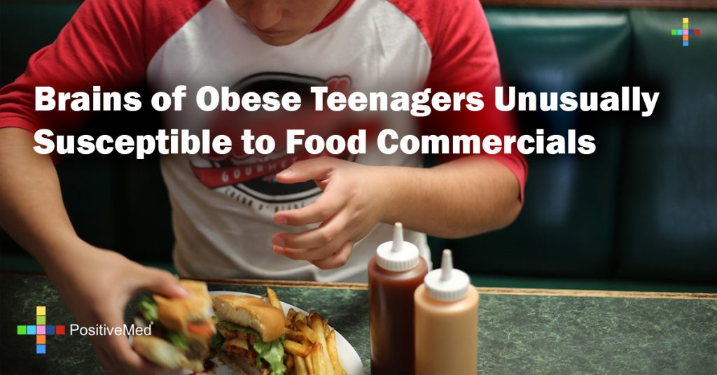 Brains of Obese Teenagers Unusually Susceptible to Food Commercials