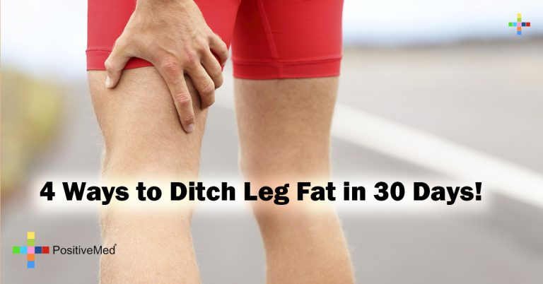 4 Ways to Ditch Leg Fat in 30 Days!