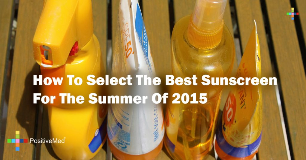 How To Select The Best Sunscreen For The Summer Of 2015
