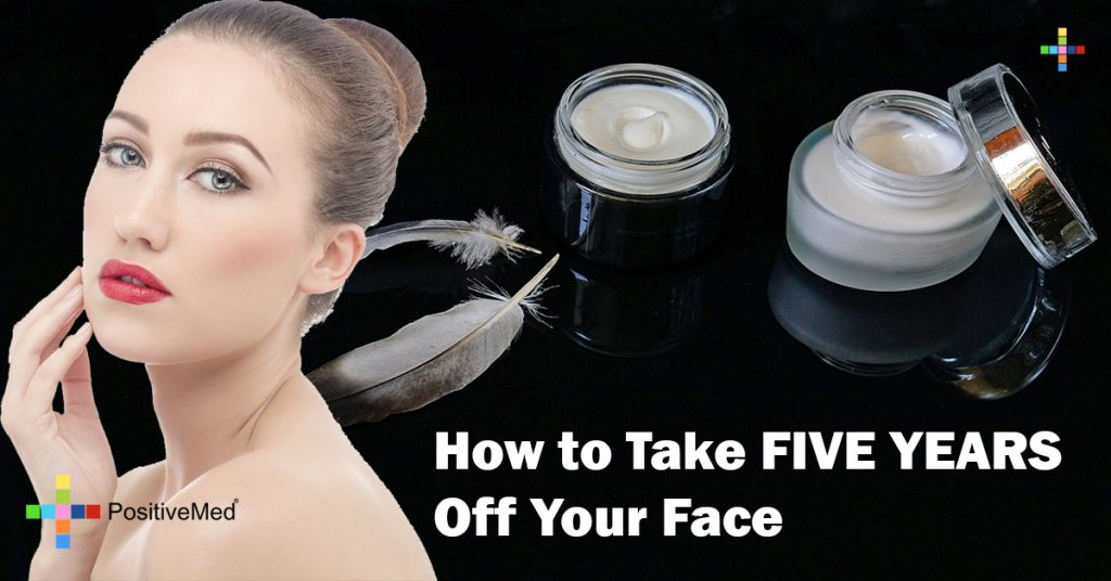 How to Take FIVE YEARS Off Your Face