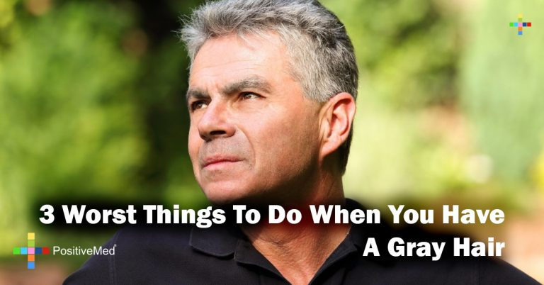 3 Worst Things To Do When You Have A Gray Hair