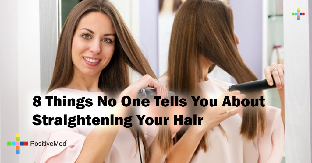 8 Things No One Tells You About Straightening Your Hair