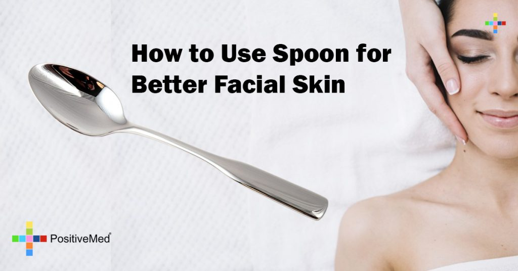 How to Use Spoon for Better Facial Skin