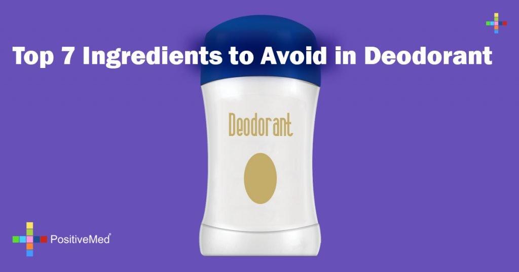 Top 7 Ingredients to Avoid in Deodorant