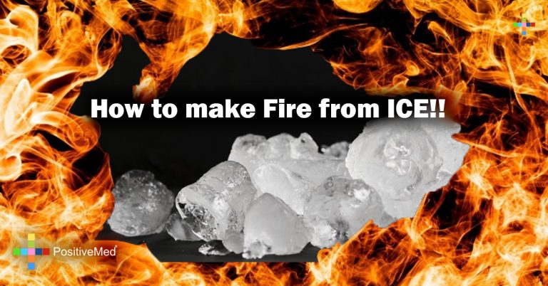 How to make Fire from ICE!!