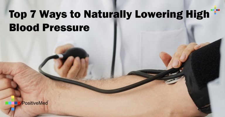 Top 7 Ways to Naturally Lowering High Blood Pressure